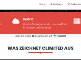 CLimited.de:€3月付/1H/1GB/35GB/不限流量1Gbps带宽/德国高防机房