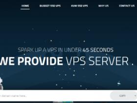 SparkVPS:$61年付/1H/1GB/15GB/2TB/KVM/达拉斯/纽约机房