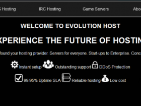 EvolutionHost:€3月付/1H/256MB/7GB/1TB/美国/德国/英国/法国等多机房