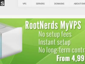 RootNerds:€5.49月付/1H/1GB/50GB/400GB/日本机房