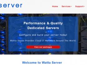 WattaServer:$28月付/Xeon L5420/16GB/500GB SATA/10TB/IPMI/达拉斯/西雅图机房