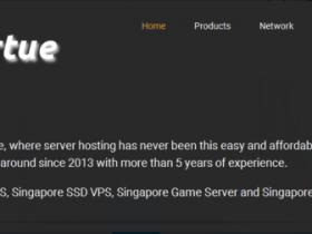 IndoVirtue:$24年付/1H/1GB/10GB/1TB流量/新加坡优化线路