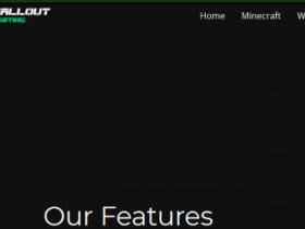 Fallout-Hosting:$3月付/1H/1GB/10GB硬盘/250GB流量100Mbps/达拉斯高防机房