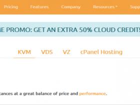 Ramnode充值送50%/按小时计费/支持支付宝微信/KVM月付3美元起
