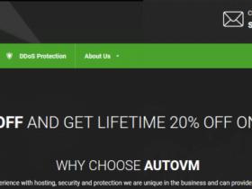 AutoVM:€7月付/1H/4GB/40GB/1Gbps不限流量/英国/德国/新加坡高防机房