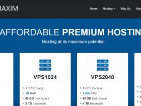 HostMaxim:$2.1每月/1H/512MB/20GB SSD/2TB/KVM/英国/美国机房