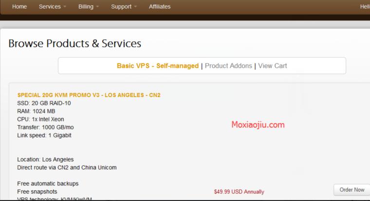搬瓦工(Bandwagonhost)新用户注册和购买最新教程