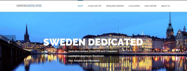 SwedenDedicated:瑞典10周年五折优惠码抗投诉VPS€5每月起