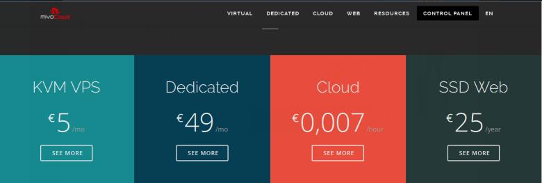 MivoCloud服务器:€59月付/4H/8GB/500GB SSD&1TB HDD/20TB流量 1Gbps/摩尔多瓦核高防机房