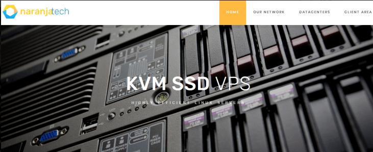 Naranjatech:€3月付/1H/2GB/40GB/2TB/KVM/荷兰机房