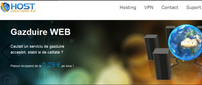 Hostsolutions:€3.75季付/1H/256MB/256GB HDD/2TB/KVM/罗马尼亚机房