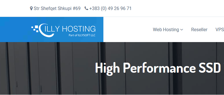 IllyHosting:1€首月/1H/1GB/20GB SSD/5TB/KVM/科索沃机房