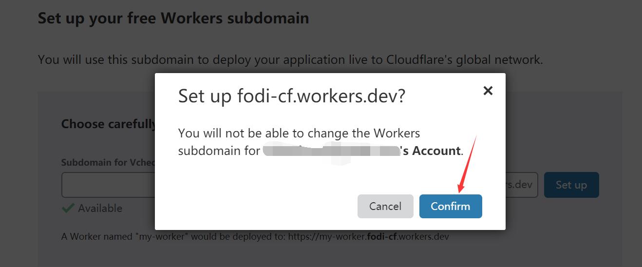 使用Cloudflare Workers部署FODI后端